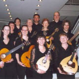 Mandolin-ensemble The Strings, at the first performance from my l'Artibonite in Bamberg - 2006